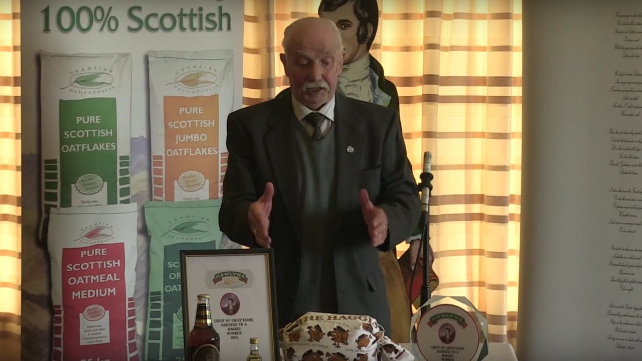 Address The Haggis Competition, with the Robert Burns World Federation