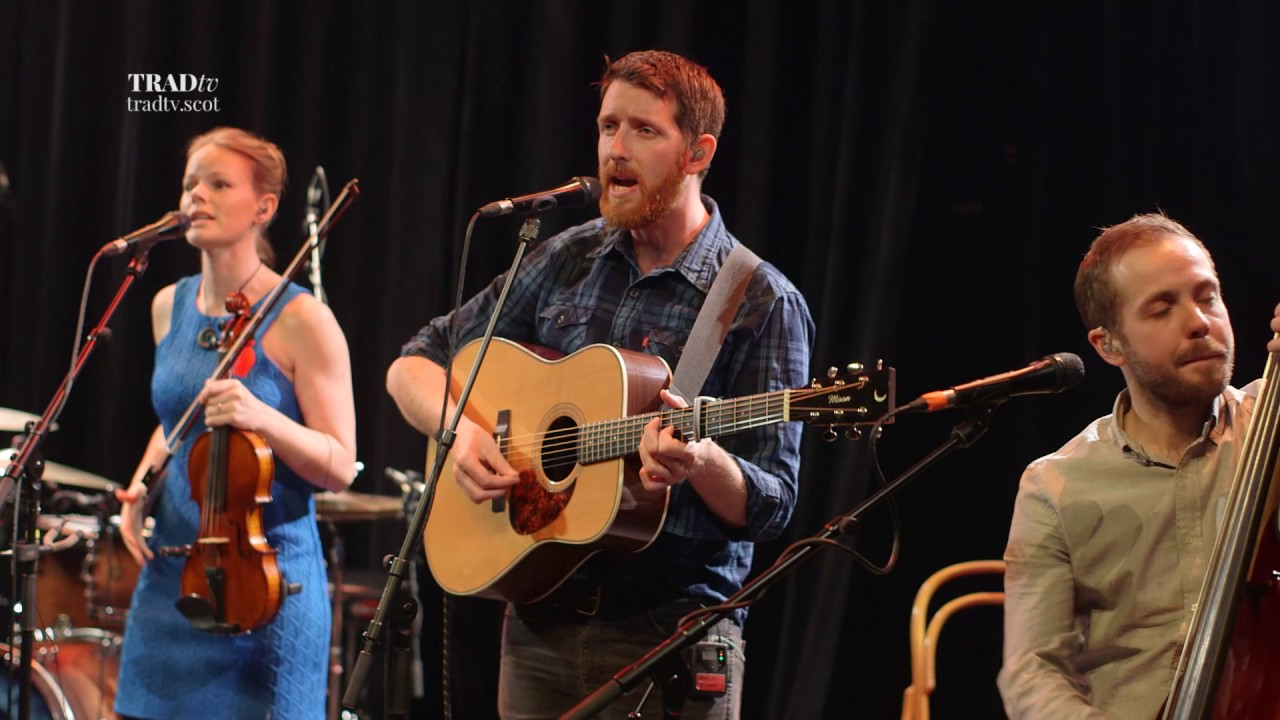 Breabach perform Outlaws and Dreamers live at Paisley Arts Centre (The Visit 2017)